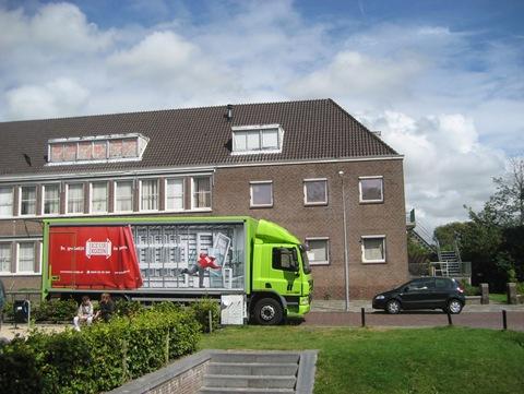 Vrachtwagen Keurkozijn